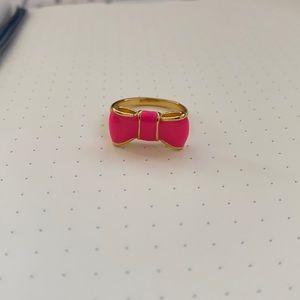 Kate Spade ♠️ Pink Bow Ring 🎀